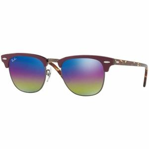 Ray-Ban Sunglasses W/Grey Rainbow Mirrored Lens
